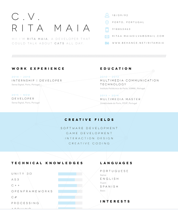 beautiful word resume template .