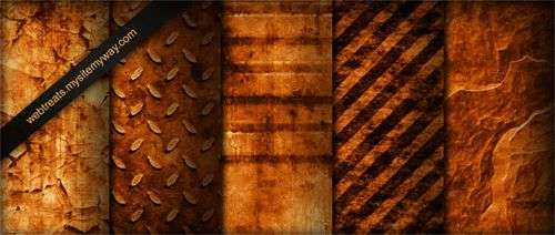 tileable_burnt_orange_industrial_grunge_textures_part_1