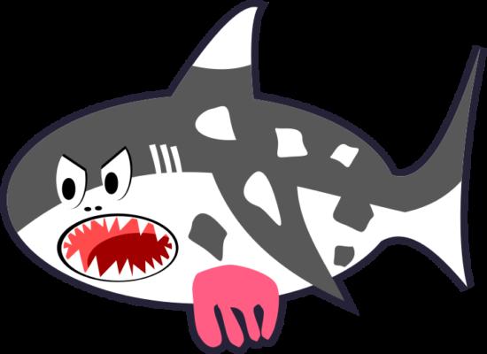 black_white_red_cartoon_shark_cow