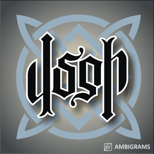 josh_ambigram