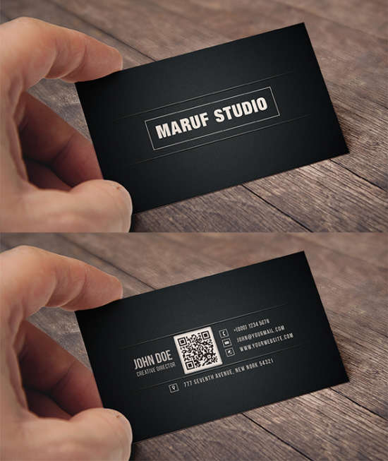 blakish_simple_free_psd_business_card