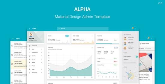 alpha_material_design_admin_template