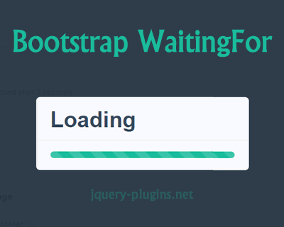 bootstrap_waitingfor_modal_dialog_with_progress_bar