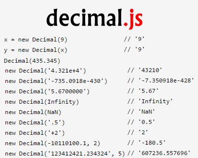decimal.js_arbitrary_precision_decimal_type_for_javascript