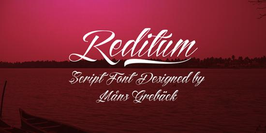 reditum_free_tattoo_font