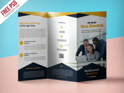 Your Dream Professional Corporate Brochure