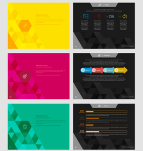 Crosslink Powerpoint Template