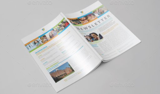 Universities and Colleges Newsletter Template