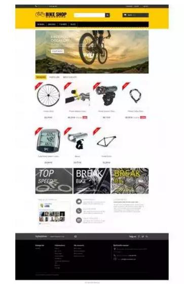 Print Bicycle Theme