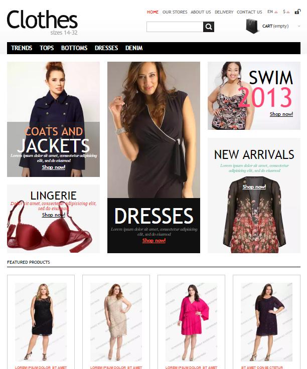 Free Fashion Bootstrap Prestashop Themes