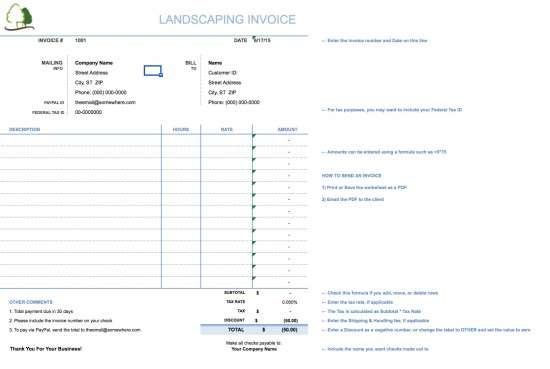 landscaping_invoice_template_screenshot