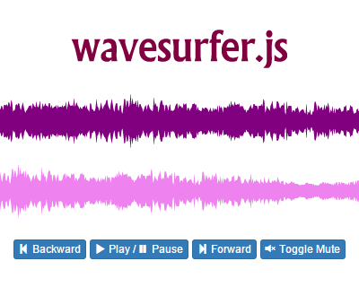 wavesurfer.js_interactive_navigable_audio_visualization