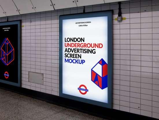 london_subway_advertising_display_mockup