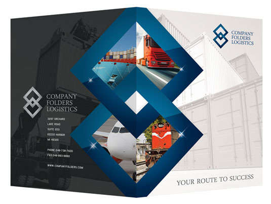 blue_diamond_logistics_corporate_folder_template