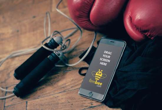 iphone_with_boxing_equipment_mockup