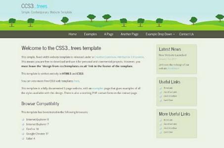 Css3_Trees