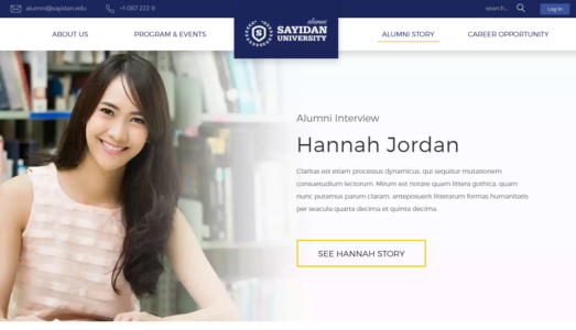Sayidan University HTML5 Template