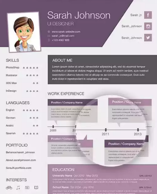 Sarah Johnson Resume
