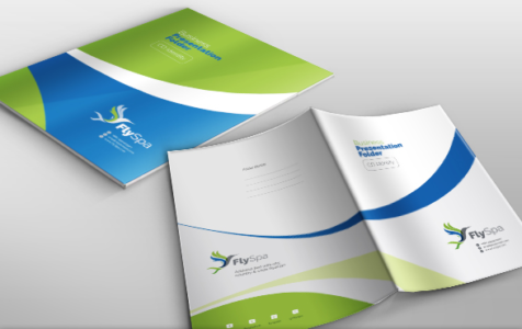 FlySpa Multipurpose Presentation Folder
