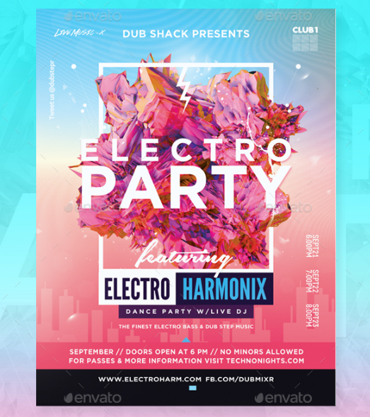 15+ Free Party And Event Flyer PSD Templates