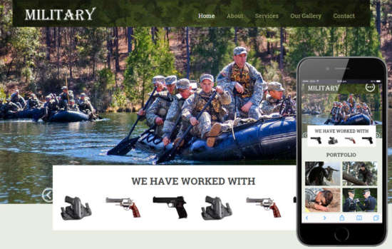 military_educational_category_flat_responsive_web_template