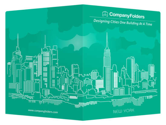 new_york_city_skyline_presentation_folder_and_business_card_template