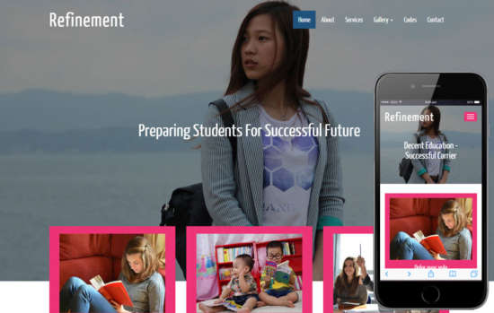 refinement_educational_category_flat_bootstrap_responsive_web_template