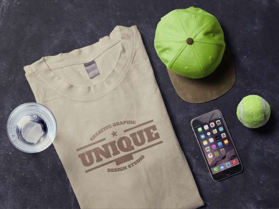 tshirt_and_iphone_scene_mockup