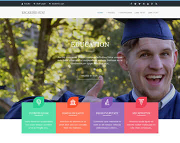 escarine-edu_free_website_template