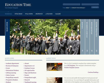 education_time_free_website_template