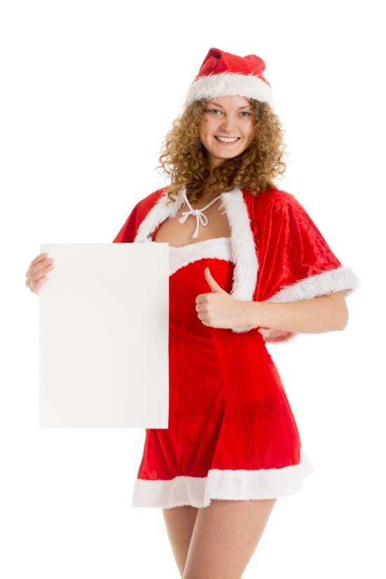 woman_dressed_as_santa_with_poster