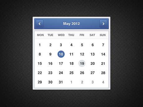 minimal_blue_calendar_psd_widget