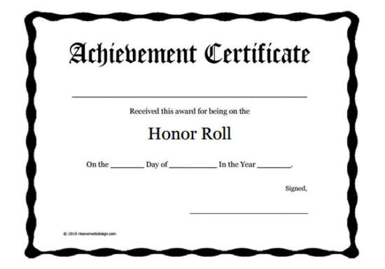 honor_roll_printable_certificate