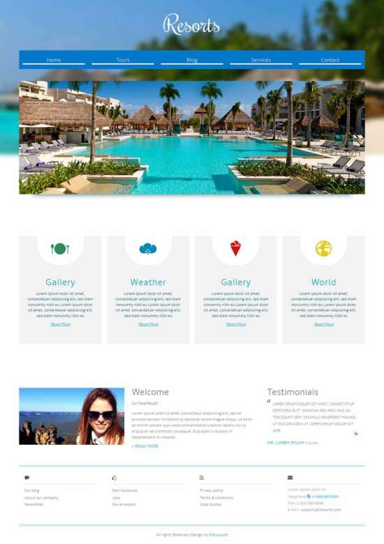 resorts_a_hotel_mobile_website_template