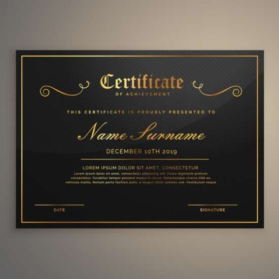 black_certificate_with_gold_ornaments