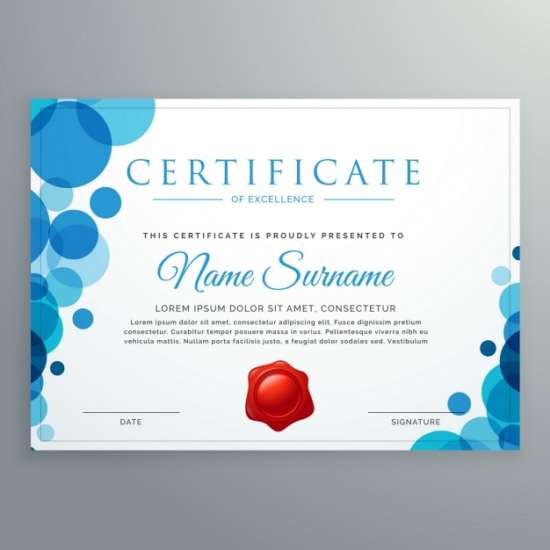 certificate_with_blue_bubbles