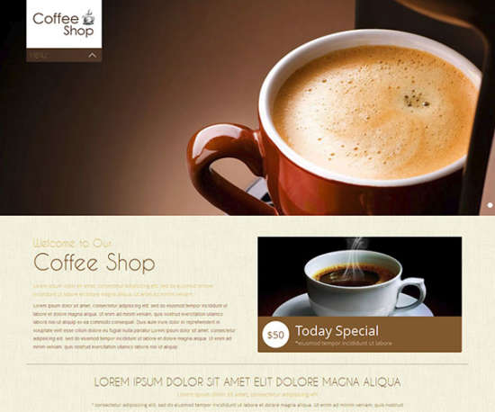 coffee_shop_mobile_website_template