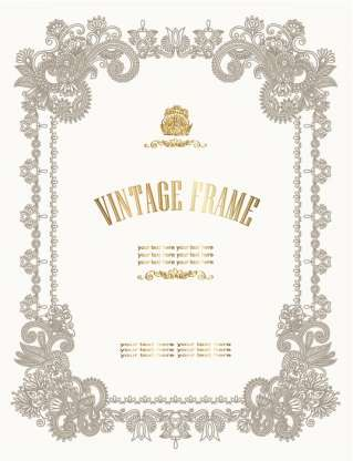 european_style_decorative_certificate_template