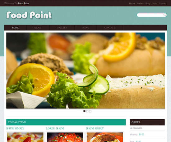 food_point_web_template_and_mobile_website_template_for_free