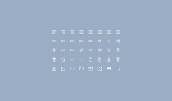 40_simple_icons_psd