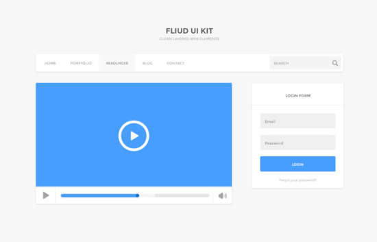 fluid_ui_kit_psd
