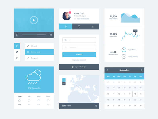 ice_blue_minimal_ui_kit_psd