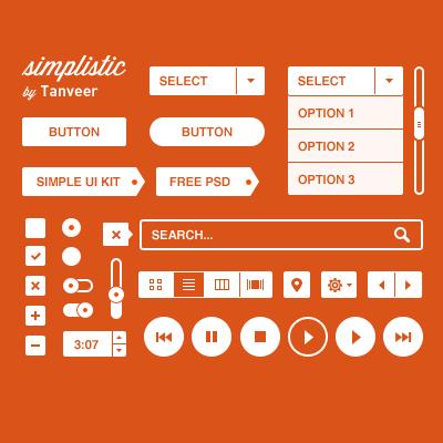 simplistic_ui_kit_psd