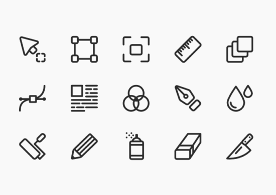 artist_icon_set_psd