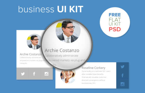 business_ui_kit_psd