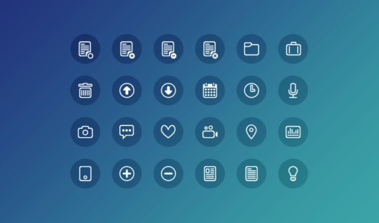 24_clean_round_icons_psd