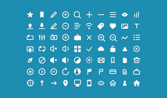 clean_simple_icons_psd
