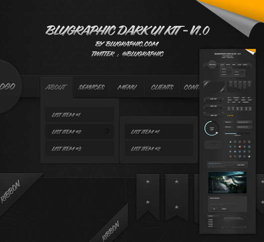 dark_ui_kit_v1_psd