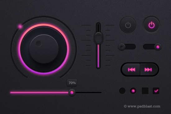 dark_music_player_ui_kit_psd