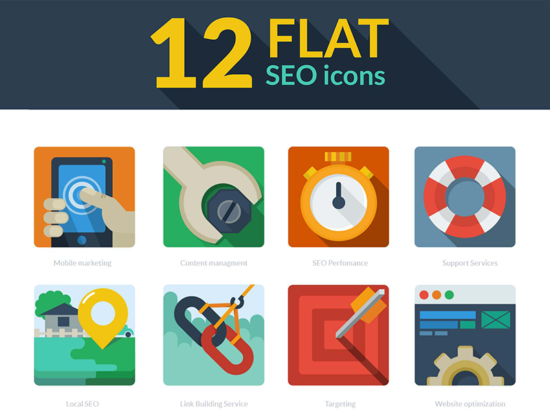 flat_seo_icons_psd